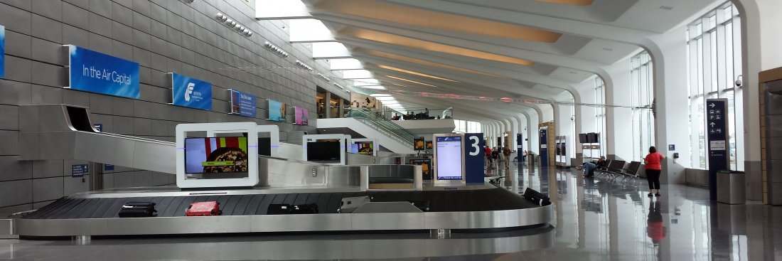 New Airport Terminal at Dwight D. Eisenhower National Airport, Wichita, KS