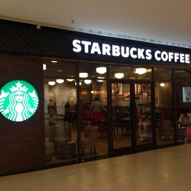 Multiple Starbucks Stores in State of Maharashtra, India