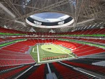 Atlanta Falcons Mercedes-Benz Stadium, Atlanta, GA