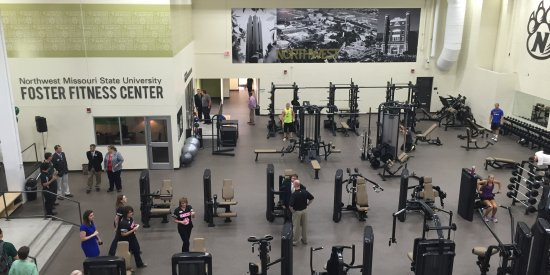 NWMSU Foster Fitness Center, Maryville, MO